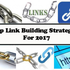 The Top Link Building Strategies For 2017