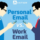 Personal vs. Work Email Account Use: Statistics & Trends
