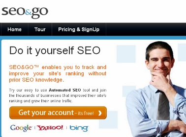 Free search engine rank tracker Seo&Go