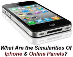 Iphone & Online Panels